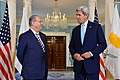 Secretary Kerry and Cypriot Foreign Minister Kasoulidis Address Reporters Before Their Meeting in Washington (27573647211).jpg