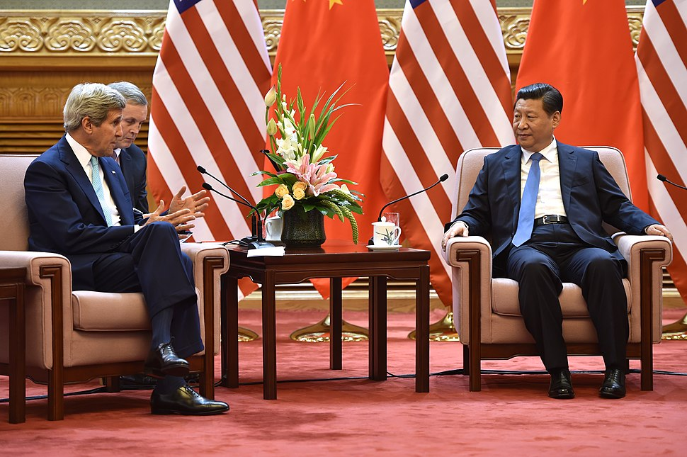 Secretary Kerry and President Xi July 2014.jpg