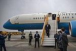 Secretary Pompeo Arrives for the Hanoi Summit in Vietnam (40249136453).jpg