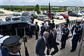 Secretary of Defense Chuck Hagel, center left, escorts Israeli Minister of Defense Moshe Ya'alon through an honor cordon at the Pentagon in Arlington, Va., June 14, 2013 130614-D-BW835-233.jpg