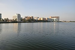 The skyline of Bidhannagar's IT hub, Sector V.
