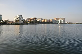 Bidhannagar - The skyline of Bidhannagar's IT hub, Sector V.