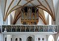 Seewalchen - Kirche, Orgelempore.JPG