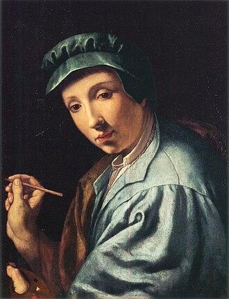Alessandro Allori - Self-portrait by Alessandro Allori, ca. 1555