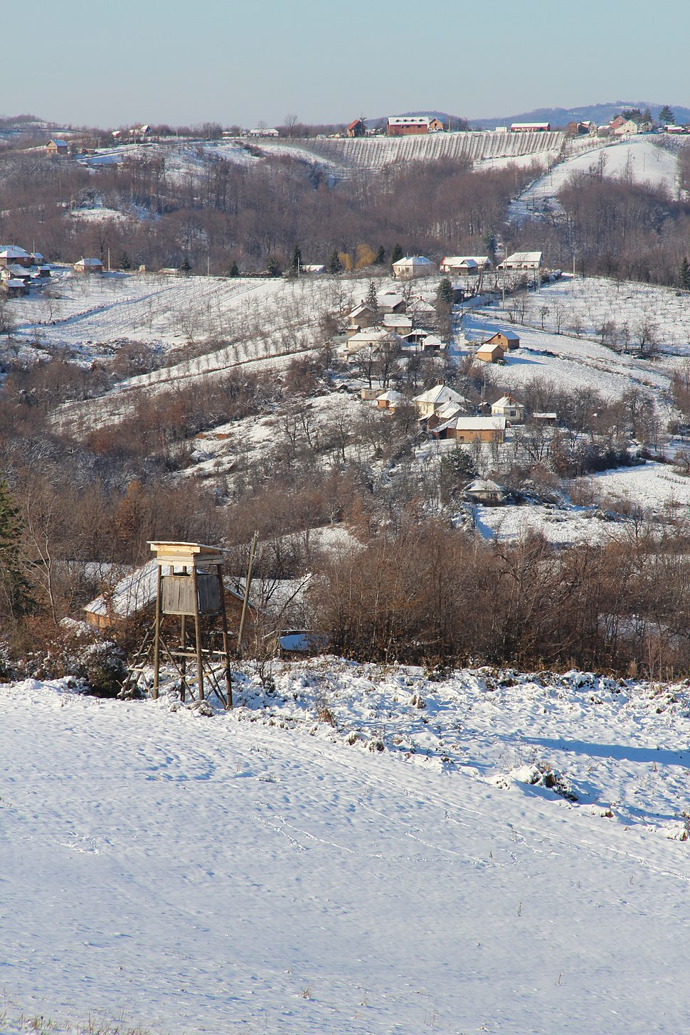 Selo Ogladjenovac - opština Valjevo - zapadna Srbija - panorama 20