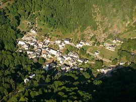 An aerial view of Sem