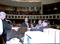 Senators taking the oath of office during the 1996 Organization Session - Tallahassee, Florida.jpg