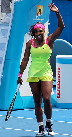 Image illustrative de l'article Serena Williams