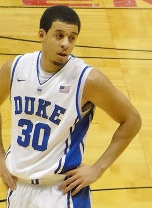 Seth Curry - Curry playing for Duke in 2011