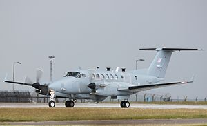 No. 14 Squadron RAF - A Beechcraft Shadow R1 in June 2011