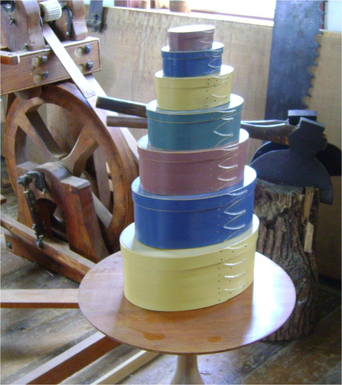 Shaker-style pantry box - Wikipedia