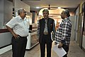 Shantanu Ganguly Along With Shrikant Pathak And Manash Bagchi Visiting NDL - NCSM - Kolkata 2017-12-13 6300.JPG