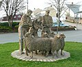 Sheep sculpture by Roger Dean, Hatherleigh - geograph.org.uk - 1803846.jpg