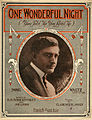 Sheet music cover - ONE WONDERFUL NIGHT - HESITATION WALTZ (1914).jpg