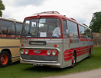 Plaxton Panorama Elite - The Panorama body, which preceded the Panorama Elite, had flat side windows