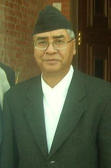 Image illustrative de l'article Sher Bahadur Deuba