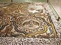 Shikmona – Mosaic floor.JPG