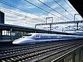 Shinkansen 700 series set B4 Odawara 2017-04-24 (33439288363).jpg