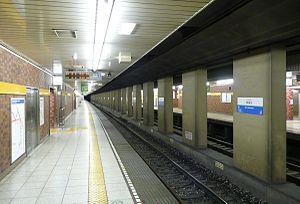 Shin-Sakuradai Station - Image: Shinsakuradai Sta Platform