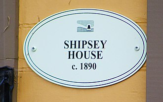 William Shipsey House - Image: Shipsey house 3