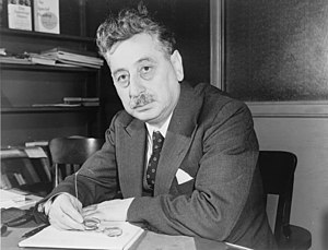 Sholem Asch, Polish-born American novelist, dr...