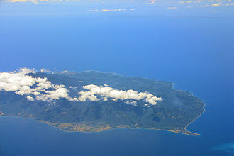 Sibuyan Island - Aerial view of the island
