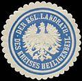 Siegelmarke Der K. Landrath des Kreises Heiligenbeil W0391535.jpg
