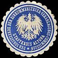 Siegelmarke Der Vorsitzende der Einkommensteuer - Veranlagungs - Commission - Stadtkreis Altona W0245868.jpg