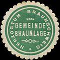 Siegelmarke Gemeinde Braunlage H. Braunschweig W0368989.jpg