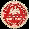 Siegelmarke Königlich Preussische Ulanen - Regiment Grossherzog Friedrich von Baden Rheinisches No. 7 W0219088.jpg