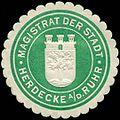 Siegelmarke Magistrat der Stadt - Herdecke an der Ruhr W0227105.jpg