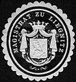 Siegelmarke Magistrat zu Liegnitz W0227148.jpg