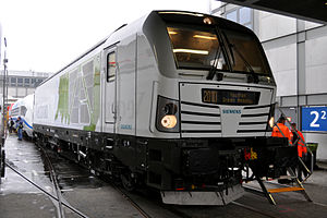 Vectron (locomotive) - Siemens Vectron diesel version (Innotrans 2010)