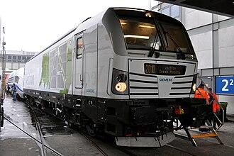 Vectron (locomotive) - Siemens Vectron diesel version (Innotrans 2010)