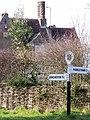 Sign, Tincleton - geograph.org.uk - 1179341.jpg