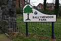 Sign near Holywood - geograph.org.uk - 354505.jpg