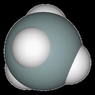 Silane - Image: Silane 3D vd W