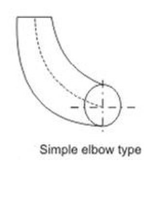 Draft tube - simple elbow draft tube