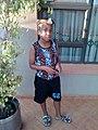 Simple modernized Zulu boy traditional attire.jpg