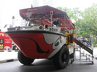 Tourism in Singapore - Singapore Ducktours (part of RATP Group)