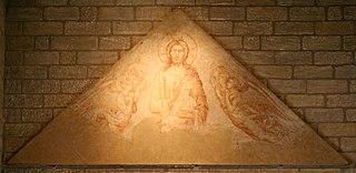 le Christ adoré par les anges, la Vierge à l'Enfant à Avignon