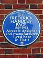 Sir FREDERICK HANDLEY PAGE 1885-1962 Aircraft designer and manufacturer lived here in Flat 3.jpg