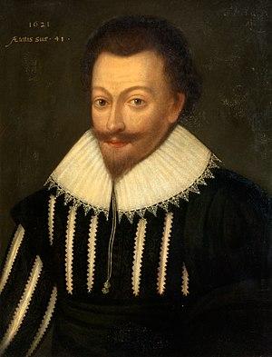 Sir Robert Gordon, 1st Baronet - Sir Robert Gordon, 1621 portrait