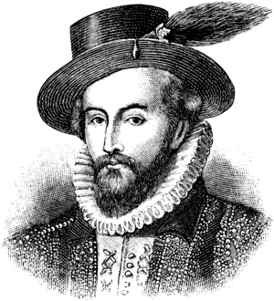 Sir Walter Raleigh (1522-1618)