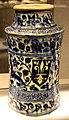 Siria, damasco, albarello con stemma giglio fiorentino, 1400-50 ca..JPG