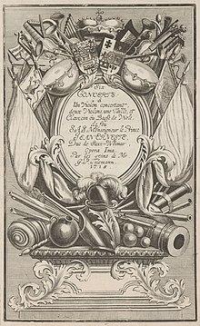Titelseite der Sechs Konzerte (Quelle: Wikimedia)