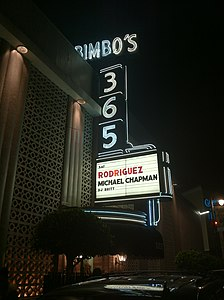 Sixto Rodriguez at San Francisco's 365 club September 29 2012.JPG
