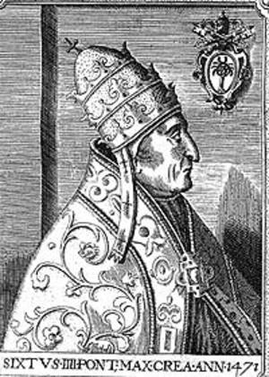 Pope Sixtus IV - Image: Sixtus IV