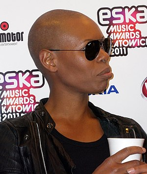 Skin (musician) - Skin at the Eska Music Awards 2011 in Katowice
