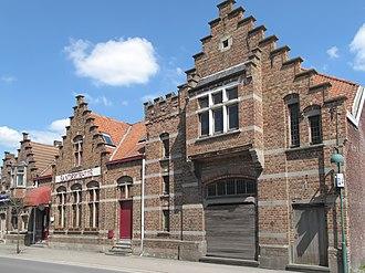 Evergem - Image: Sleidinge, Dorp 4 tm 6 oeg 34408+9, 2013 05 05 14.54